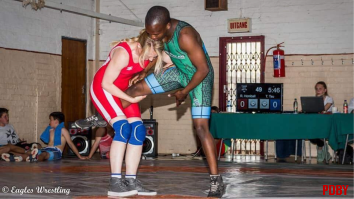 Rozani Honiball: SA wrestler to look out for