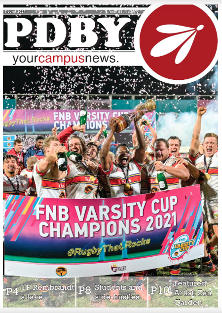 Cover of latest print edition of PDBY